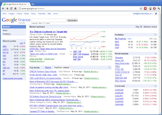 Google Finance Canada - Canadian Investor Tips